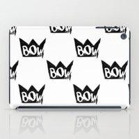 bow iPad Cases featuring Bow by Matt Smiroldo