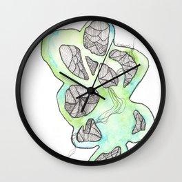 Scandi Micron Art Design   170412 Telomeres Healing 34 Wall Clock