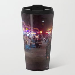 Shanghai Streets Metal Travel Mug