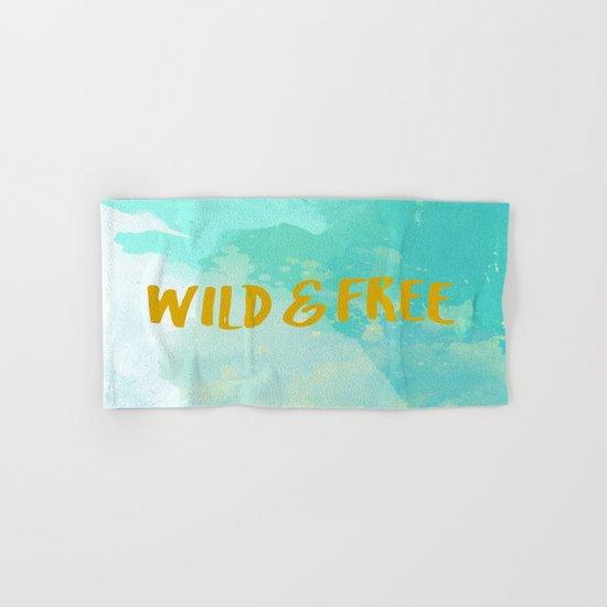 Wild & Free Hand & Bath Towel