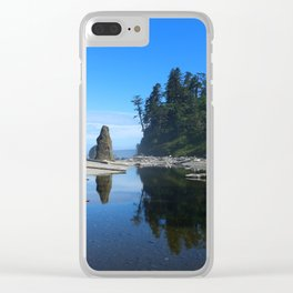 Take A Walk With Me Clear iPhone Case