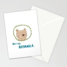 Bearable Bear Stationery Cards