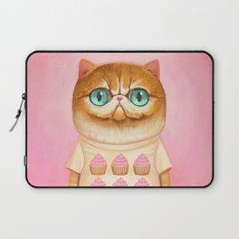 Cupcake Cat Laptop Sleeve