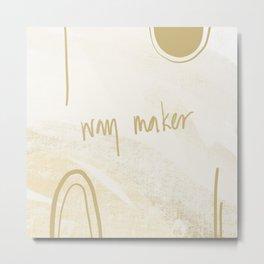 Way maker Metal Print