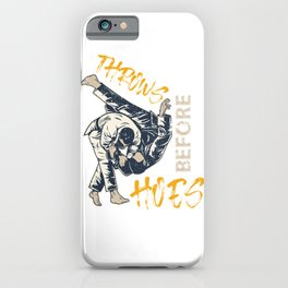 Throws Before Hoes iPhone Case