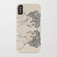 neon genesis evangelion iPhone & iPod Cases featuring Genesis by Kate Plourde
