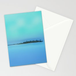 Island in the Sky Stationery Cards