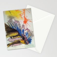 Young Warrior Dreams Stationery Cards