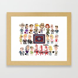 The Big Lebowski iotacons Framed Art Print