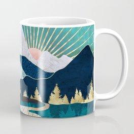 Winter River Coffee Mug