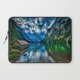 Konigssee HDR lake summer Alps mountains Berchtesgaden Germany Europe Lake Koenigssee Laptop Sleeve