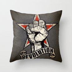 Up The Revolution! Throw Pillow
