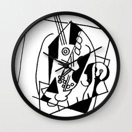 Picasso Guitare et Boîte (Guitar and Box) 1925 Artwork Reproduction Wall Clock