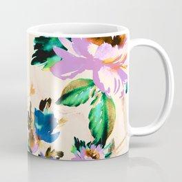 Watercolor blooming paint Coffee Mug