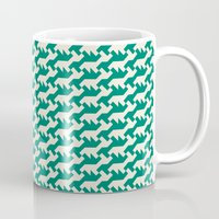 nintendo Mugs featuring Nintendo .green by guapa.