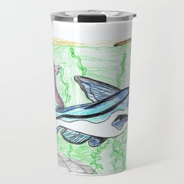 Mexican Blue Catfish Travel Mug