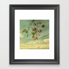 an impression of control Framed Art Print