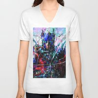 optimus prime V-neck T-shirts featuring OPTIMUS PRIME by Raditya Giga