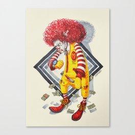 Ronald Wackdonald Canvas Print