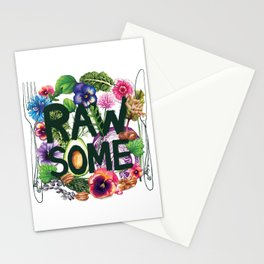 Rawsome - Plant Power Stationery Cards