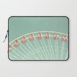 Mint and pink nursery ferris wheel Laptop Sleeve