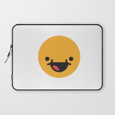Emojis: Happy Laptop Sleeve
