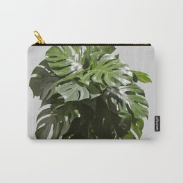 Tropical leaves monstera Carry-All Pouch