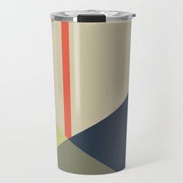 bandana || camou & coral Travel Mug