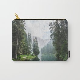 Forest Reflection in Italy Carry-All Pouch