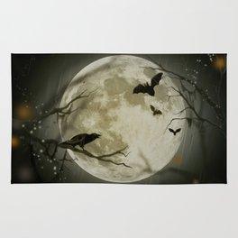 Halloween Scene Rug