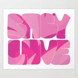 Baby Love Collection Art Print