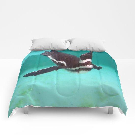 Penguin Swim Comforters