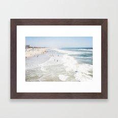Huntington Beach  Framed Art Print