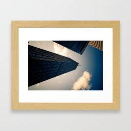 Hancock Tower Framed Art Print