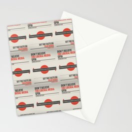 Don't Believe The Liberal Media Stationery Cards