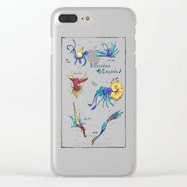 Mollusca Magica Clear iPhone Case
