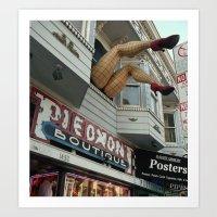 Haight Street, San Francisco, CA Art Print