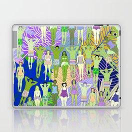 Solar Martian Green Suntan City Laptop & iPad Skin