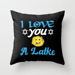 Hannukah Passover Gift Idea for Jew Throw Pillow
