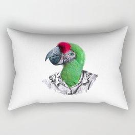 Caribbean Parrot Rectangular Pillow