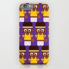 Basketball - Gold and Purple iPhone 6s Slim Case