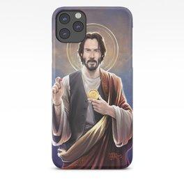 Saint Keanu of Reeves iPhone Case