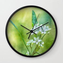 Summer green Wall Clock