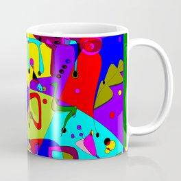 Alevbet, the Hebrew Alphabet Coffee Mug