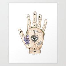 Hand Art Prints | Society6