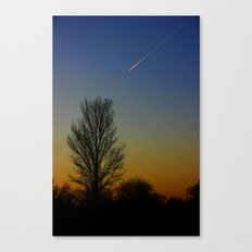 Shoot across the sky.... Canvas Print