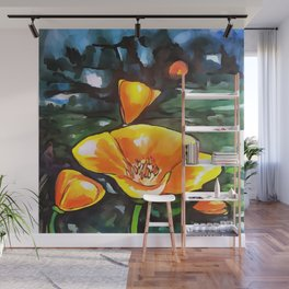 Perfect Poppies Wall Mural