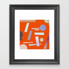 Geometry 2 Framed Art Print