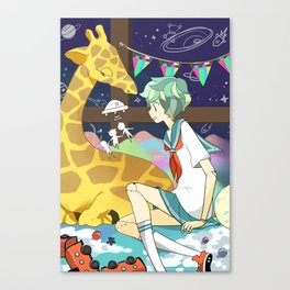 Playhouse Galaxy Canvas Print