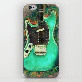 Kurt Cobain's electric guitar iPhone Skin